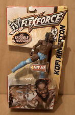 WWE Flexforce Figure Swing Kickin Kofi Kingston Free P&P