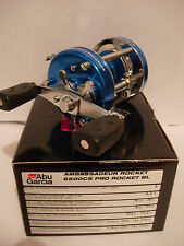 ABU GARCIA Ambassadeur 6500CS PRO ROCKET Reel (BLUE) RIGHT HAND WIND