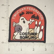 Timucuan Federation 2014 Costume Bowling Patch