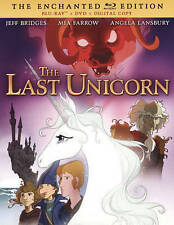 The Last Unicorn, Blu-ray/DVD, NEW, FREE SHIPPING, The Enchanted Edition