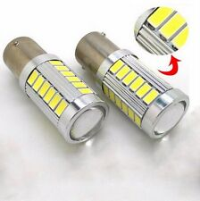 2pcs Red P21W 1156 BA15S Cree 33 LED Bulb 5730 SMD Super Bright Car Light Auto