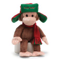 "GUND - MONKEY - 14"" CURIOUS GEORGE - FARGO HAT - CLEARANCE SALE"