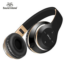 Sound Intone BT-09 Bluetooth Headphones Wireless Stereo Headsets with MIC FM TF