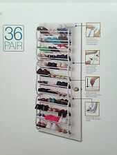 36 pair over the door hanging and shoes rack in various capacity size
