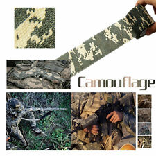 Tactical Camping Camouflage Stealth Tape Waterproof Band Stretch Bandage Stock