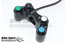 KTM RC8 race bike 4 button handlebar switch, Mode, Lap, Nemesis TC+ / TC-