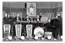 pu1057 - Hemsworth Band , West Riding Constabulary , Yorkshire - photograph