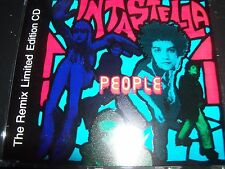 Intastella People – The Remix Limited Edition CD Single – Like New