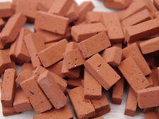 250 1:12th Scale Miniature Dolls House Georgian Red Bricks