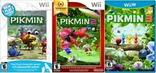Pikmin Trilogy - 1 2 3 Combo Pack (Nintendo Wii & Wii U, NTSC, Video Game) NEW