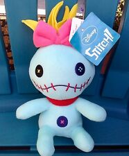 "NEW NWT DISNEY LILO AND STITCH 10"" SCRUMP PLUSH STUFFED ANIMAL DOLL FIGURE"