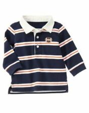 NWT GYMBOREE TINY MVP STRIPED FOOTBALL POLO RUGBY SHIRT 0-3 mo  Free US Shipping