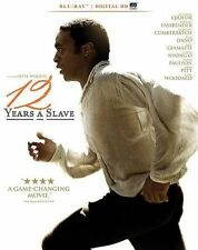 12 Years a Slave (Blu-ray Disc, 2014) Brand New - Brad Pitt - Chiwetel Ejiofor