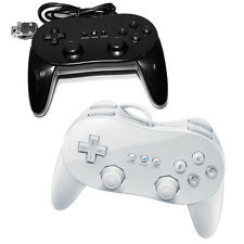 New Classic Joypad Remote Controller White/Black for Nintendo Wii Video Game 1PC