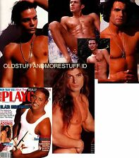 PLAYGIRL 7-96 JULY 1996 BLAIR UNDERWOOD LONG HAIR ADONIS! JOE WOLFE TONY ALLEN