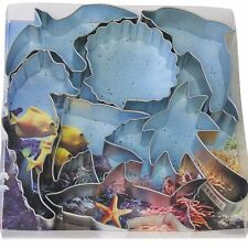 R & M Steel Sea Life Theme Cookie Cutter 7 Pieces - 1878