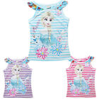 2015 Kids Girls Summer Tops T-Shirts Cartoon Casual Clothes Short Sleeve 3-10 Y