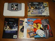 Star Wars: Shadows of the Empire (Nintendo 64, 1996) COMPLETE