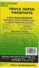 Triple Super Phosphate 0-40-0 Bulb Booster - Plant Food/Fertilizer - 5Lbs.