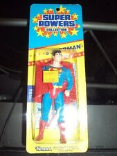 "DC SUPER POWERS ""Superman"" Action Figure - Kenner (MOC) 1986 Small Card Rare!!!"