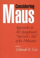 """Considering Maus: Approaches to Art Spiegelman's """"Survivor's Tale"""" of -ExLibrary"""