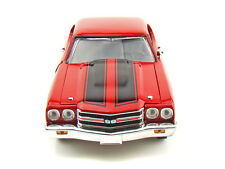 1:18 Johnny Lightning Red 1970 Chevelle Fast and Furious Chevrolet Chevy 39578
