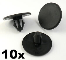 10x Peugeot Bonnet Insulation Retainer Clips- Plastic Trim Clips Bonnet Lining