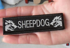 SHEEPDOG Tactical Military Morale Velcro Patch    SJK   411