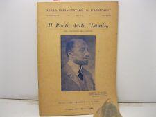 Scuola media statale G. D' Annunzio, Il poeta delle Laudi