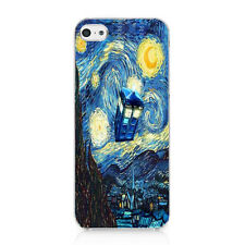 Tardis Doctor Who Starry Night Snap On Case Hard Cover For iPhone 5 5s