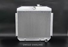 NEW 3 ROWS Aluminum Radiator 1955-1957 Chevy Chevrolet Bel Air 6CYL CORE SUPPORT