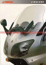 YAMAHA FJR 1300 - 2002 : Brochure - Dépliant - Moto                       #0612#