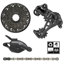 Sram GX DH  4-peice mini-group 1x7 11-25T drivetrain BLACK/GREY DOWNHILL NEW!