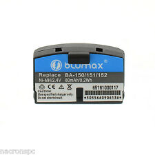 Lot 2 Batteries BA 150 BA 151 BA 152 Sennheiser Audioport A200 Set IS 150 IS 300