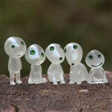 5pcs/set Luminous Tree Elves Miyazaki Princess Mononoke Action Figure Toys gift