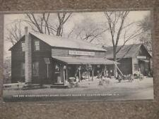 The Red Wagon Country Store, Chatham Center, N.Y., unused, vintage cards
