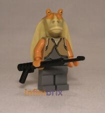 Lego Jar Jar Binks from Set 9499 Gungan Sub + 7929 Battle Naboo Star Wars sw301