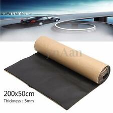 1 Roll Self Adhesive Closed Cell Foam Car Sound Proofing Deadener Insulation 5mm