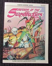 1984 Marvel Graphic Novel #14 Swords of The SWASHBUCKLERS Mantlo & Guice VF+