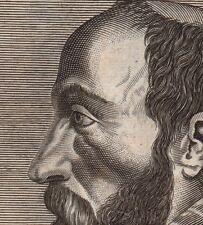 Portrait XVIIIe Erycius Puteanus Humanisme Renaissance Humanism Venlo Pays Bas
