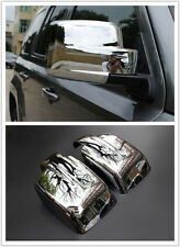 2pcs Chrome Rear View Rearview Mirror Side Cover Trim For Jeep Patriot 2011-2015