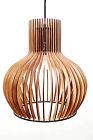 Deckenlampe Modern Holzleuchte Pendelleuchte Design Holz Neu