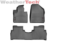 WeatherTech® Floor Mats FloorLiner for Kia Sorento - 2016-2017 - Black