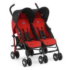 Chicco brothers and sisters-buggy / Twin buggy Echo Twin Design Garnet NEW SALE