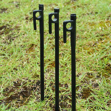 20cm HEAVY DUTY High Strength STEEL Camping Tent Canopy Stakes Pegs