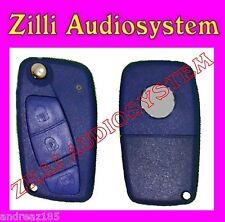 Schalendeckel schlüssel X fernbedienung Fiat Ducato 3 buttons blau Compatibile