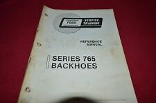 Ford Tractor 765 Backhoe Service Training Book Manual CHPA