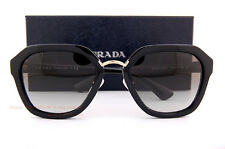 Brand New Prada Sunglasses PR 25RS 1AB 0A7 Black/Gray Gradient For Women