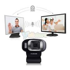New AUSDOM HD 1080P USB 3.0 Webcam Web Camera with microphone for PC Laptop US