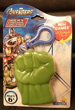 The Avengers Hulk's Smashing Challange Mini Games Card Game, MOC!  2012